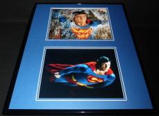 Superman Christopher Reeve Framed 16x20 Photo Display