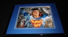 Superman Christopher Reeve Framed 8x10 Photo Poster B