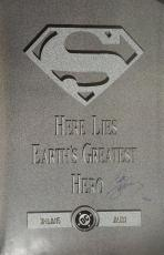 "Superman ""Doomsday Tombstone""  23.5x35.5"" Poster Signed By Dan Jurgens #407/5000"