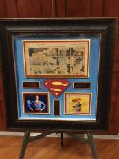 "Superman: Jerry Siegel / Joe Shuster ""Autographed"" (JSA) 1945 Comic Strip (RARE)"