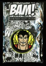 Superman Stained Glass BAM BOX Exclusive Pin