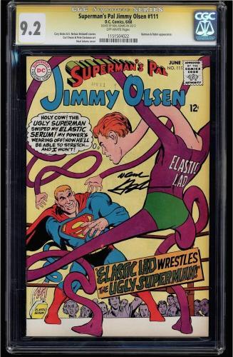 Superman's Pal Jimmy Olsen #111 Cgc 9.2 Ss Neal Adams 1 Of 1 Cgc #1151504022