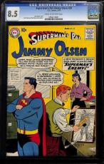 Superman's Pal Jimmy Olsen #35 Cgc 8.5 Cgc #0956314001