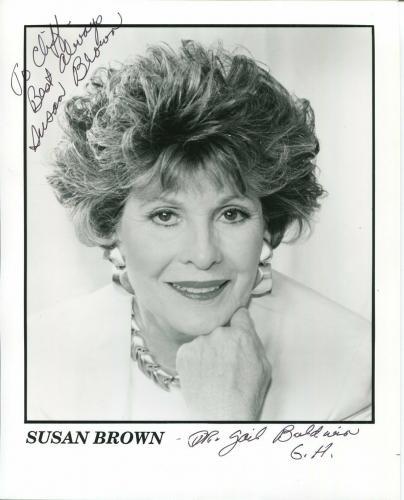 Susan Brown General Hospital Port Charles Death Valley Da Signed Autograph Photo