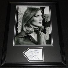 Susan Howard Signed Framed 11x14 Photo Display Dallas Star Trek D