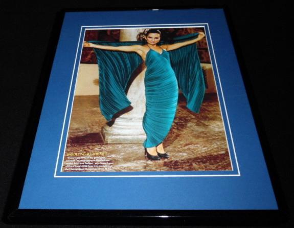 Susan Lucci as Erica Kane 1983 Met Framed 11x14 Photo Display All My Children