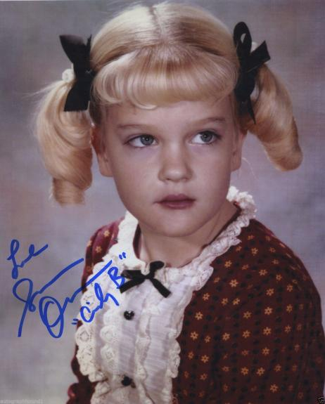 Susan Olsen Signed Autographed The Brady Bunch Color Photo