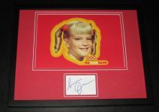 Susan Olsen Signed Framed 11x14 Photo Display JSA The Brady Bunch
