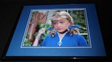 Susan Olsen Signed Framed 8x10 Photo AW Brady Bunch