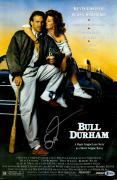 "Susan Sarandon Autographed 12"" x 18"" Bull Durham Movie Poster - Beckett COA"