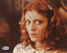 "Susan Sarandon Autographed 8"" x 10"" The Rocky Horror Picture Show Looking Away Photograph - Beckett COA"