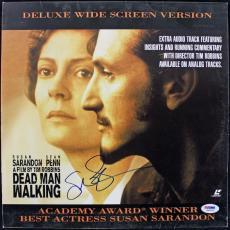 SUSAn Sarandon Dead Man Walking Signed Laserdisc Cover PSA/DNA #J00705