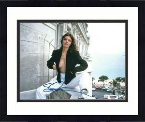 Susan Sarandon Signed 8x10 Photo PSA Y50863