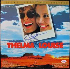 SUSAn Sarandon Thelma & Louise Signed Laserdisc Cover PSA/DNA #J00700