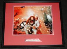 Susannah York Signed Framed 16x20 Photo Poster Display JSA Superman