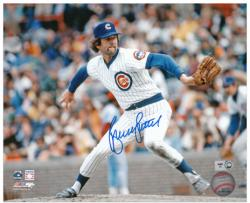"Bruce Sutter Chicago Cubs Autographed 8"" x 10"" Pitching Photograph"