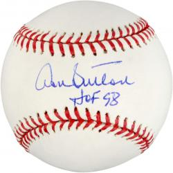Don Sutton Autographed Baseball with HOF 98 Inscription