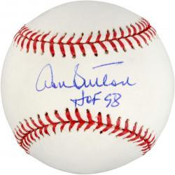 Don Sutton Autographed Baseball with HOF 98 Inscription