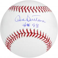 Don Sutton Autographed MLB Baseball with HOF 98 Inscription