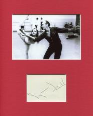 Suzanne Farrell Ballet Signed Autograph Photo Display With George Balanchine