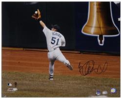 "Ichiro Suzuki Seattle Mariners Autographed 16"" x 20"" Back Shot Photograph"