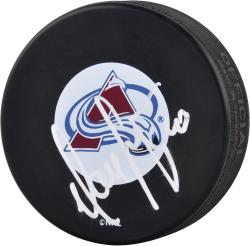 Marek Svatos Colorado Avalanche Autographed Puck One Color