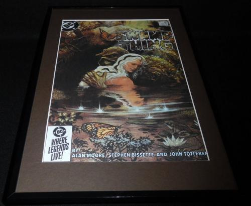 Swamp Thing #34 Framed 11x17 Cover Photo Poster Display Official Repro