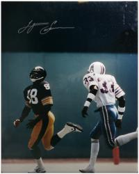 Lynn Swann Pittsburgh Steelers Autographed 16'' x 20'' vs. Houston Oilers Photograph