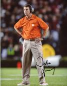 Dabo Sweeney Clemson Tigers Autographed 8'' x 10'' Hands On Hips Photograph