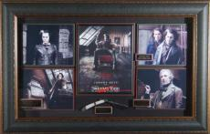 Sweeney Todd - Johnny Depp Autographed Framed Display