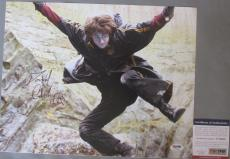 SWEET!!! Daniel Radcliffe Signed Young HARRY POTTER 11x14 Photo PSA/DNA