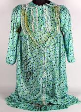 "Sweet Dreams"" Linda Blair Double Signed Regan Nightgown Costume PSA"