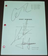 Sweet November Signed - Autographed Script by Keanu Reeves, Jason Isaacs, and Charlize Theron
