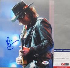 SWEET PHOTO!!! Richie Sambora BON JOVI Signed 8x10 Photo #1 PSA/DNA