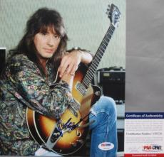 SWEET PHOTO!!! Richie Sambora BON JOVI Signed HOT 8x10 Photo #2 PSA/DNA