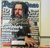 SWEET!!! Rob Zombie DEVIL'S REJECTS Signed ROLLING STONE Magazine PSA/DNA