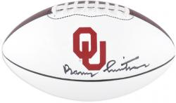 Barry Switzer Oklahoma Sooners Autographed Nike Football