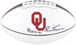 Barry Switzer Oklahoma Sooners Autographed Nike Football
