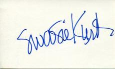 Swoosie Kurtz Huff Slap Shot Mike & Molly Broadway Tony Winner Signed Autograph