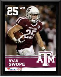 "Ryan Swope Texas A&M Aggies Sublimated 10.5"" x 13"" Plaque"
