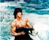 Sylvester Stallone 8x10 Photo Glossy Image #1 Rambo