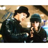 "Sylvester Stallone and Talia Shire Rocky Autographed 11"" x 14"" Looking at Hand Photograph- Beckett"