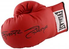Sylvester Stallone Autographed Red Everlast Boxing Glove - Beckett COA