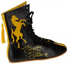 Sylvester Stallone Autographed Rocky Boxing Boot - Beckett COA
