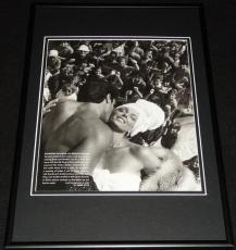 Sylvester Stallone & Brigitte Nielsen 1985 Framed 12x18 Photo Display