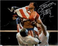 Sylvester Stallone Hand Signed Autographed 11x14 Photo Rocky Full Signature OA a
