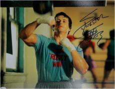 Sylvester Stallone Hand Signed Autographed 11x14 Photo Rocky Full Signature OA c