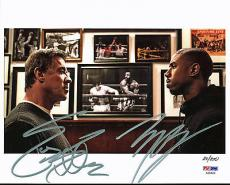 Sylvester Stallone & Michael B. Jordan Signed Creed 8X10 Studio Photo PSA/DNA