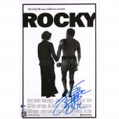"Sylvester Stallone Rocky Autographed 12"" x 18"" Movie Poster - Beckett"