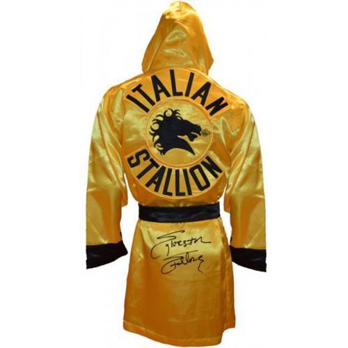 Sylvester Stallone Rocky Autographed Italian Stallion Boxing Robe - Beckett